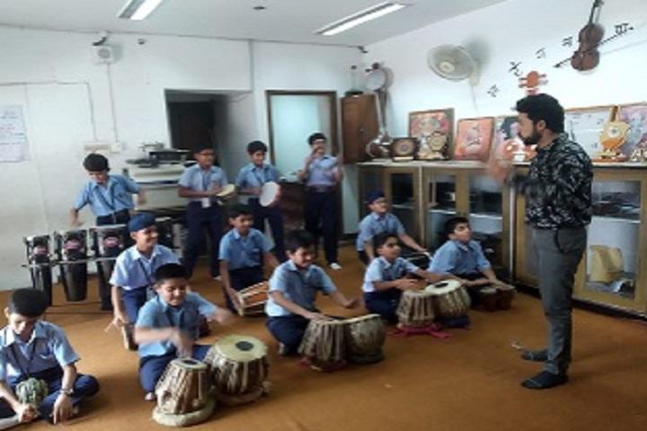 D C Model Senior Secondary School-Music Class