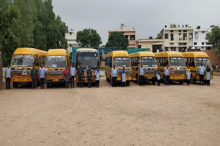 D C Model Senior Secondary School-Transport