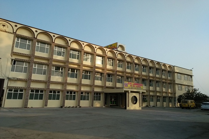 D H Lawrence Senior Secondary School- School Campus