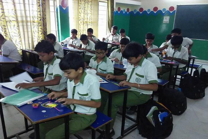 Delhi Public School-Making Of Rakhi