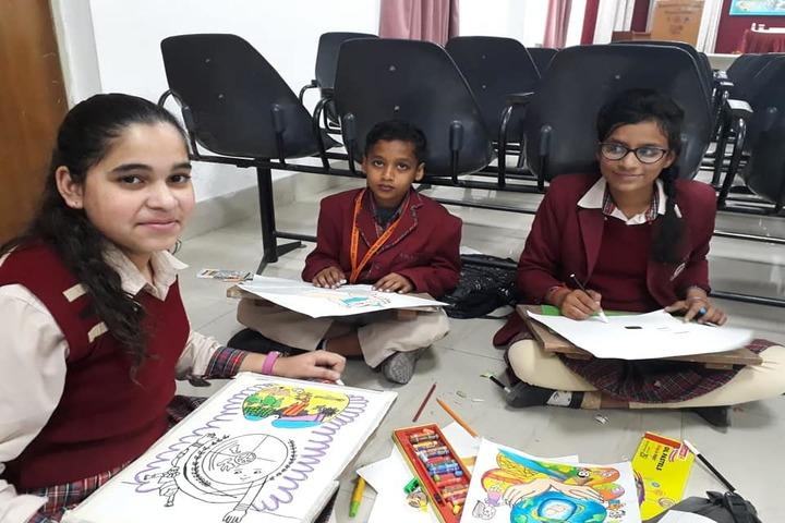 DAV Centenary Public School-Drawing