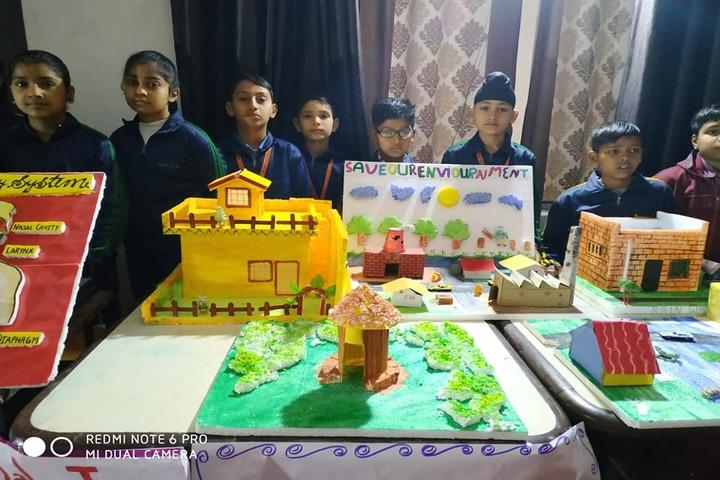DAV Centenary Public School-Exhibition