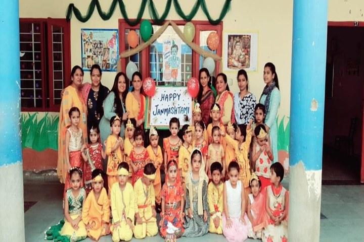 DAV Centenary Public School-Festival Celebration
