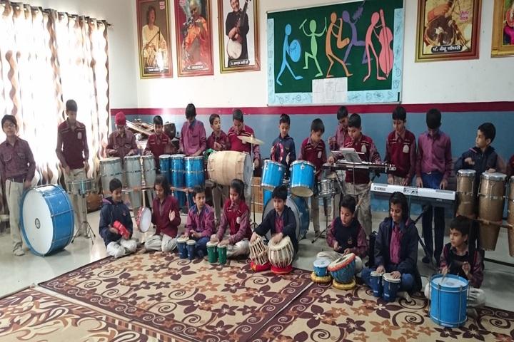 DAV Police Public School-Music room
