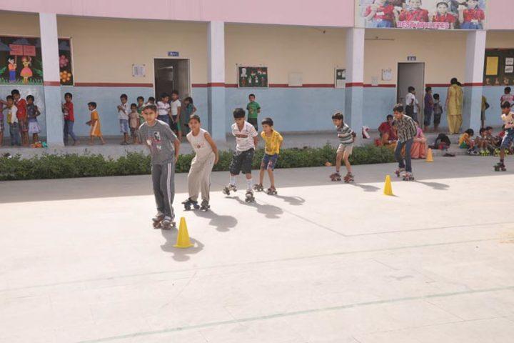 DAV Police Public School-Skating