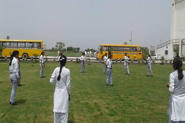 Dalamwala Public School-Play Ground