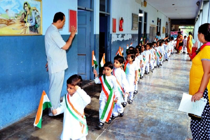 Dav Centenary Public School Sirsa-Independences Day Celebrations