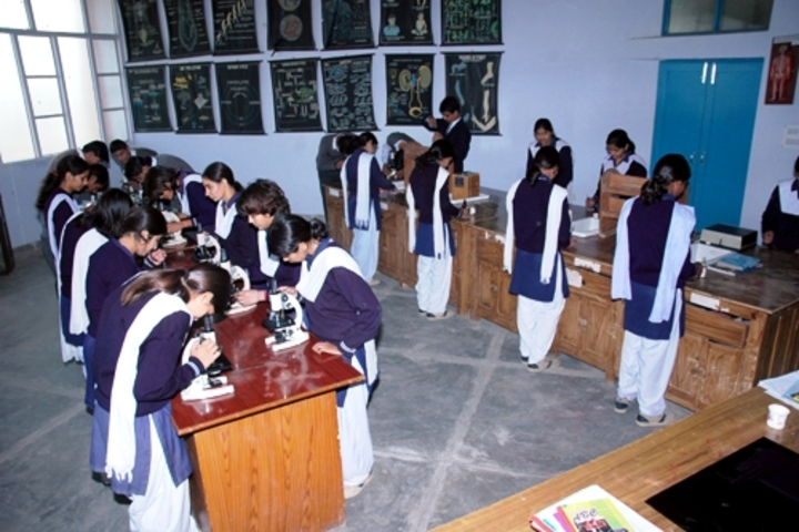 DAV Centenary Public School-Biology Lab