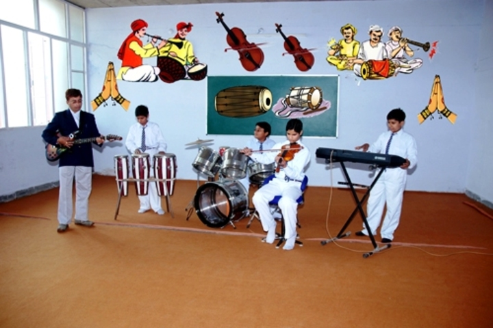 DAV Centenary Public School-Music Room