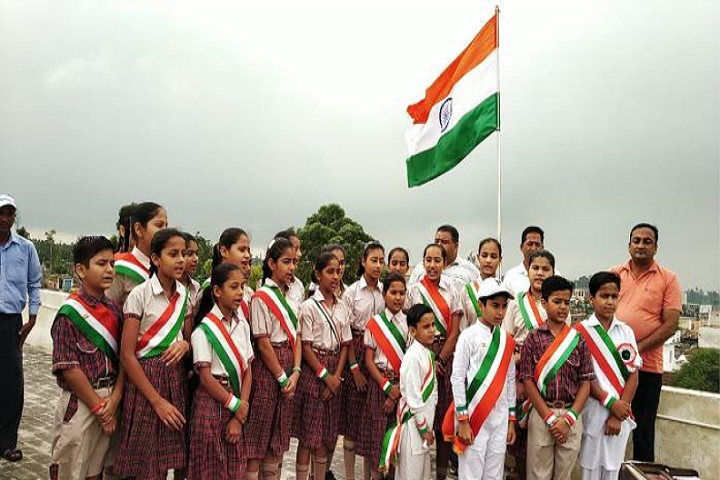 Dav Centenary Public School-Flag Hosting