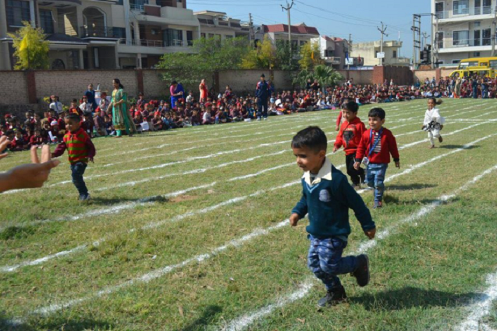 DAV Centernary Public School-Running Race Competition