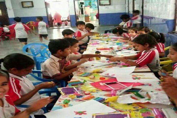 Dav Multi Purpose Public School-Art and Craft