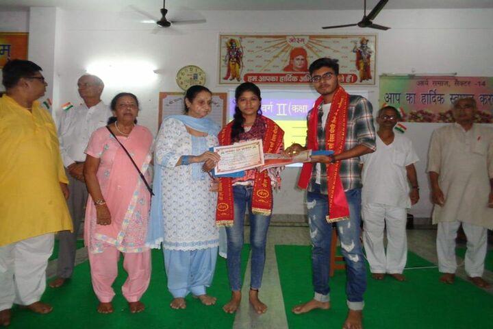 Dav Multi Purpose Public School-Felicitation