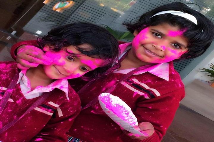 Dav Police Public School-Holi Celebrations