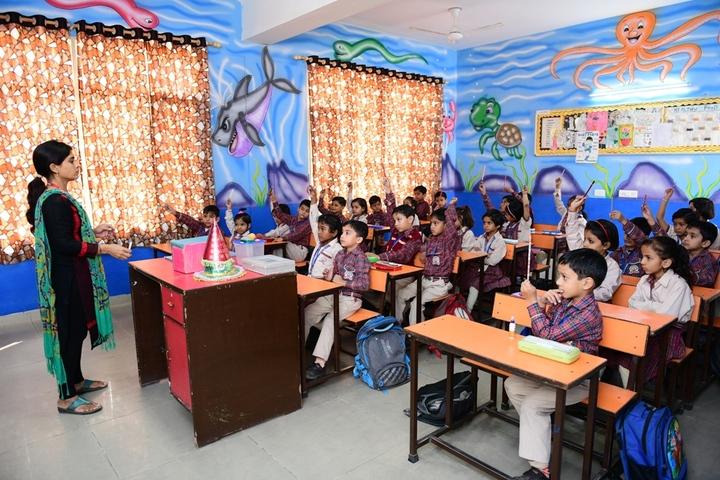 Dav Police Public School-Class Room