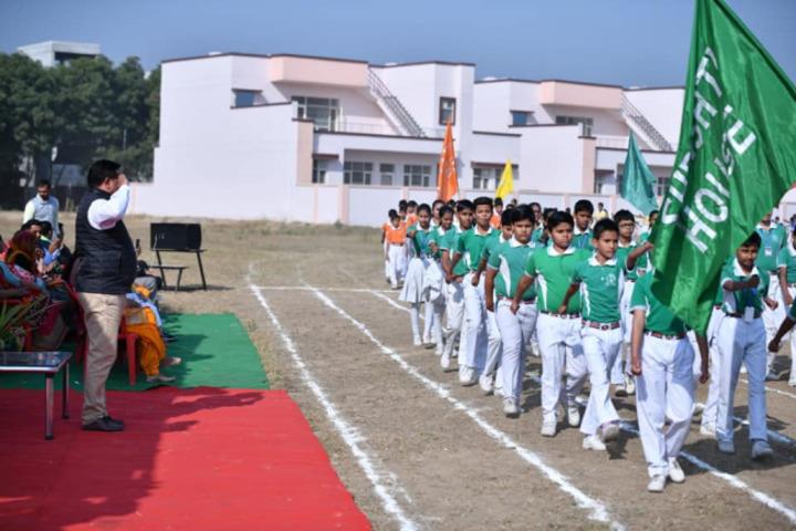 Dav Police Public School-March Past