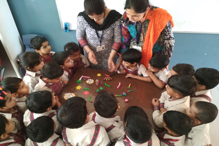 Dav Police Public School-Childrens Creative Activity