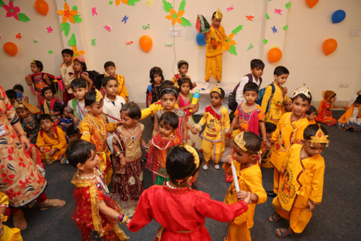 Dav Police Public School-Festival Celebrations