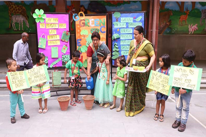 Dav Public School-Green day