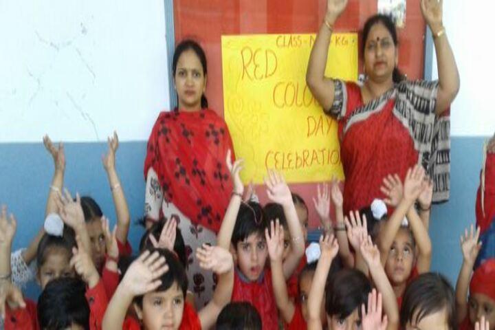 Dav Public School-Red Day
