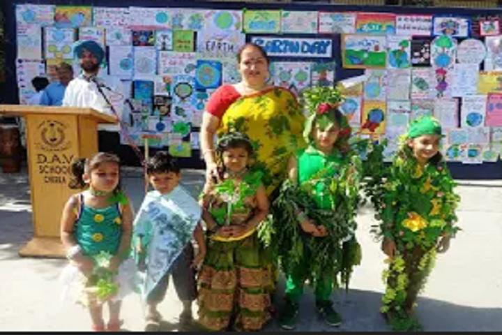 Dav Senior Secondary Public School-Earth Day