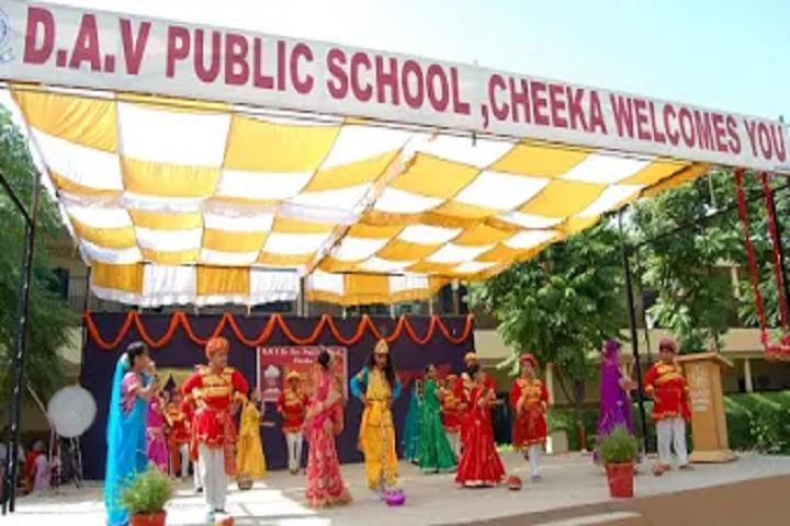 Dav Senior Secondary Public School-Janmasthami Celebrations