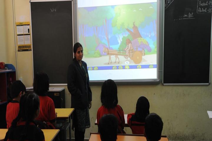 Dawn Nilayam Public School-Class Room