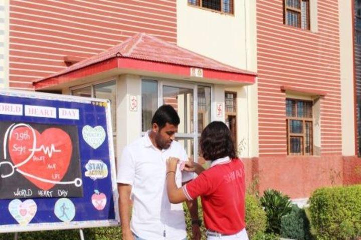 Dawn Nilayam Public School-Heart Day