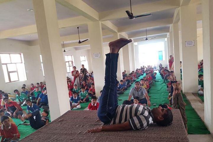 Dawn Nilayam Public School-Yoga