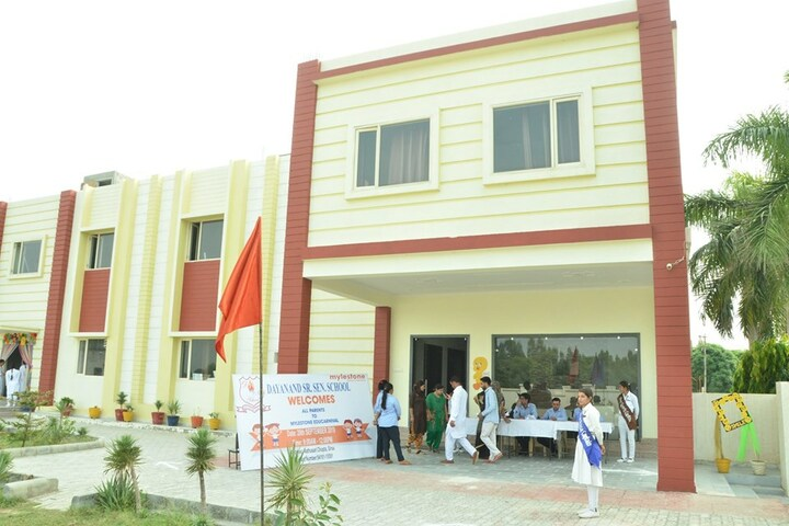 Dayanand Senior Secondary School-Front View