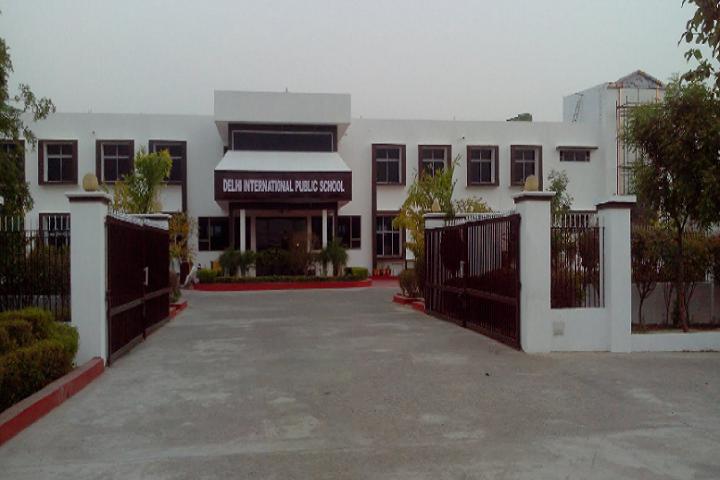 Delhi International Public School-Campus-Front View