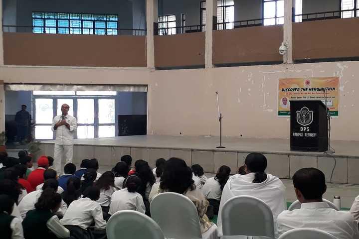 Delhi Public School-Guest Lecture