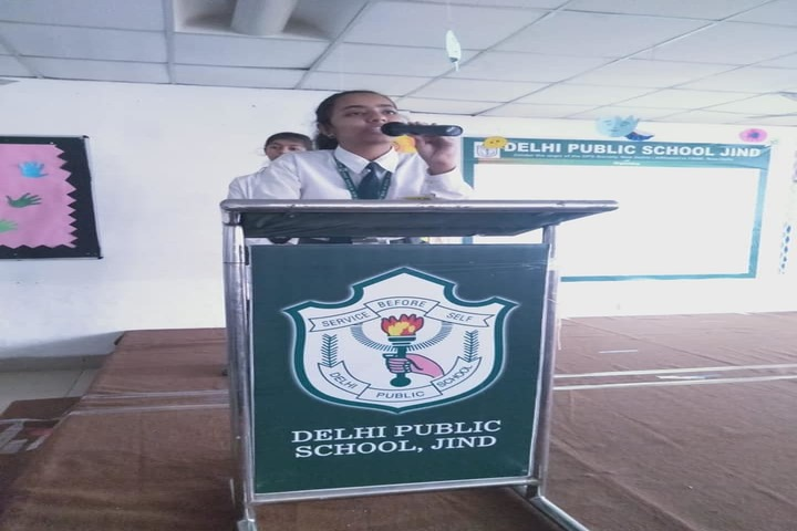 Delhi Public School-Speech