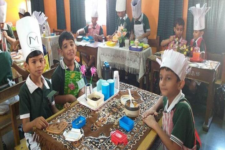 Delhi Public School - Cooking Class