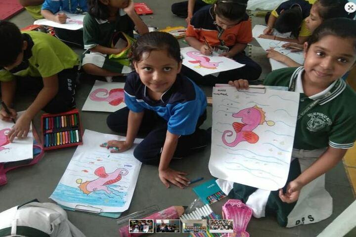 Delhi Public School - Drawing