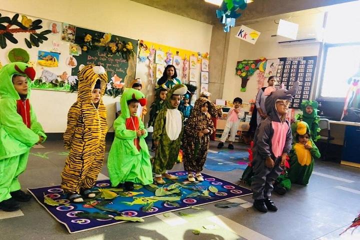 Delhi Public School-Jungle activities