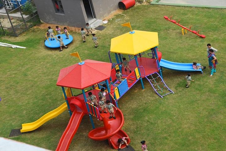 Delhi Public School-Play area
