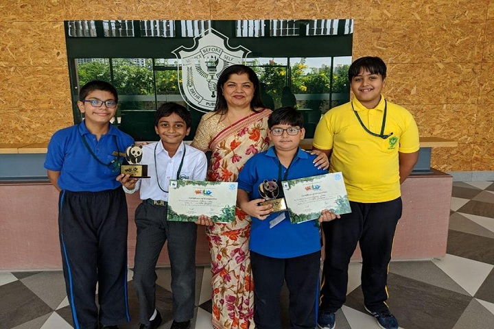 Delhi Public School-Prizes