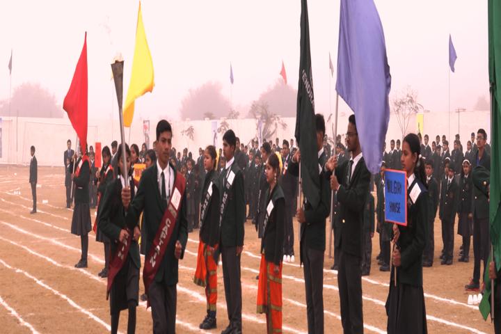 Delhi Public School-March Past