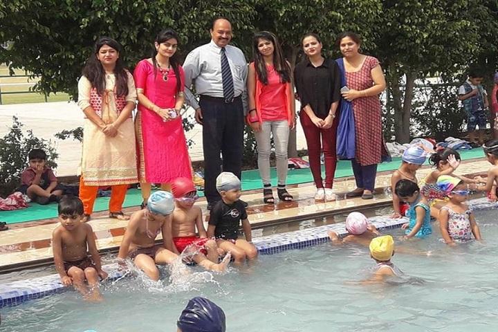 Delhi Public School-Pool Party