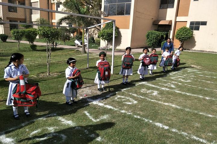 Delhi Public School Ambala-Fun Race Activity