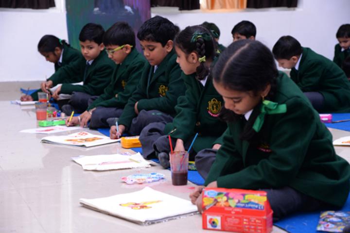 Delhi Public School-Art room