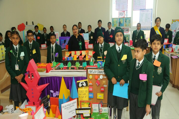 Delhi Public School-Maths Exhibition