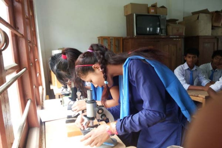 Government Secondary School-Biology Lab