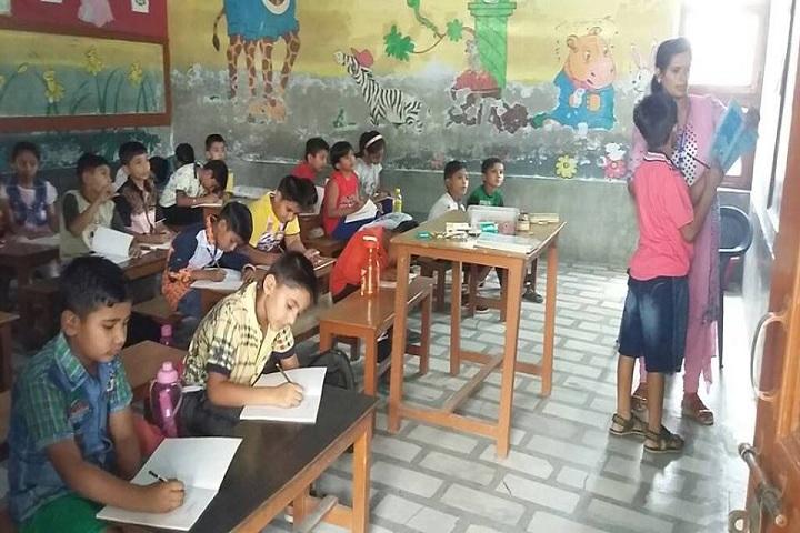 Dina Nath Memorial Convent School-Classroom