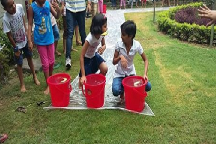 Dina Nath Memorial Convent School-Water Games