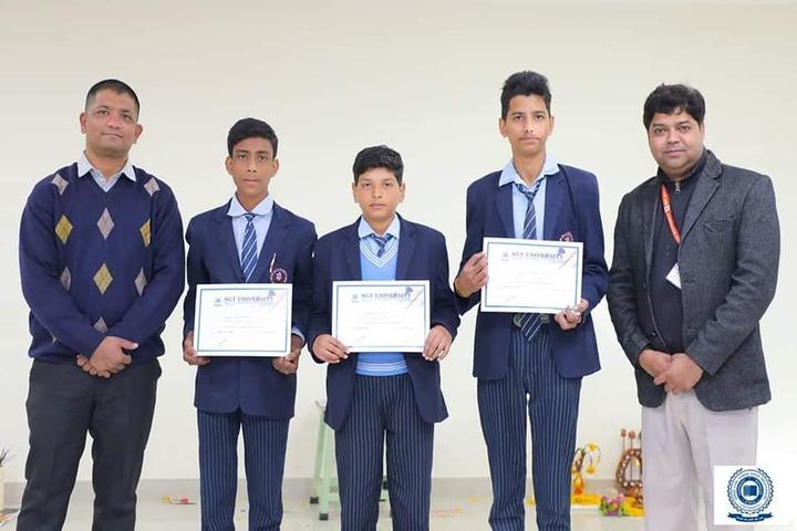 Divine Dale International School-Felicitation