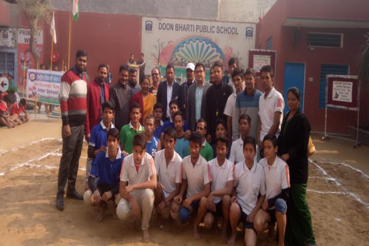 Doon Bharti Public Senior Secondary School-Sports Team