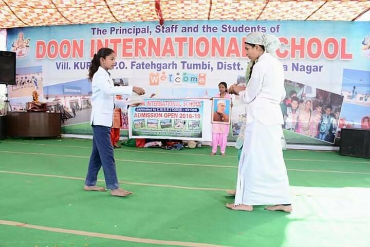 Doon International School-Drama