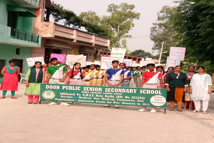 Doon Public Senior Secondary School-Fortnight Cleanness Drive